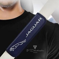Jaguar 2 pcs. Blue Seat Belt Shoulder Cover Pads