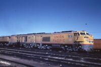 Railroad Slide - Union Pacific GTEL #X-5 #5 Locomotive Cheyenne Wyoming UP