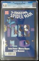 Amazing Spider-Man #658 Marvel Comics CGC 9.8 White Pages 2nd Print Variant