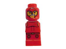LEGO 4x Minotauro Gladiatore Rosso Red Micro PERSONAGGIO NUOVO micofig NEW microfigures