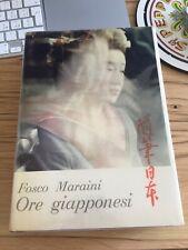 Fosco Maraini, Ore Giapponesi, 1a edizione 1957