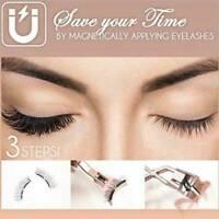 2 pairs Magnetic Eyelash Partner Set Curler Clip Quantum Kit Makeup Tool False