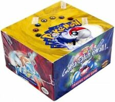 1x  Base Set: Unlimited: Booster Box NM-Mint Sealed Product - Pokemon