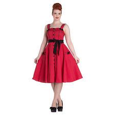 Abbigliamento e accessori rossi marca Hell Bunny