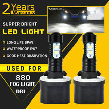 2x 880 881 H27 50W CREE LED Fog Driving Light Bulb 6000K White High Power Lamps