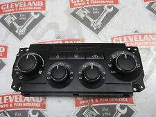 08-10 Dodge Charger SRT-8 OEM Automatic Heater AC Control w/ Dual Zone Farenheit
