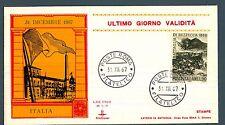 ITALIA REP. - 1966 - 100° anniversario della battaglia di Bezzecca - ultimo gior