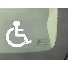 1x Disabilitato Logo-Auto, Furgone, Camion, Autobus Adesivo Finestra-segno disabilità, Avvertenza, Taxi
