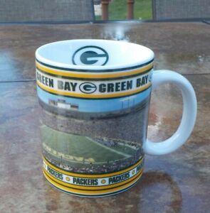 Danbury Mint GREEN BAY PACKERS Game Day Mugs Looking For Deep Post BRETT FAVRE