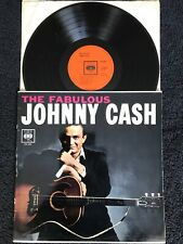 Johnny Cash - The Fabulous Johnny Cash Vinyl LP CBS BPG 62042 (1962) NM/EX