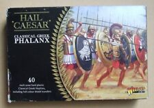 Warlord - Hail Caesar GREEK PHALANX - 28mm Hoplite / Spear - ** 8 MODELS **