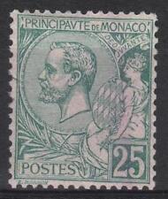 "MONACO STAMP TIMBRE N° 16 "" PRINCE ALBERT 1er 25c VERT "" NEUF xx A VOIR  M159"