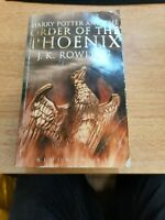Harry Potter and the Order of the Phoenix Adult Edition J. K. Rowling Bloomsbury