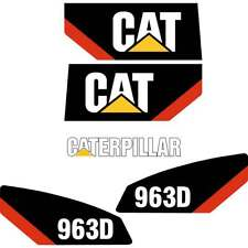 CAT 963D Decals Stickers Repro Kit