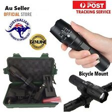New 6000LM Shadowhawk X800 CREE L2 ZOOM Led Flashlight Torch Powerful battery