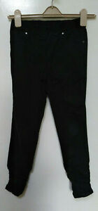 Next Skinny black trousers/Jeggins petite size 8