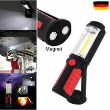 3W COB LED KFZ Arbeitsleuchte Akku Werkstattlampe Handlampe Stablampe mit Magnet