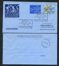 1979 - LOTTO/17106UV - VATICANO - AEROGRAMMA PROVVISORIO - FDC VIAGGIATO