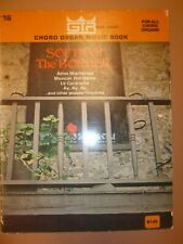 Magnus/Estey Chord Organ Music (with numbers) SOUTH OF THE BORDER