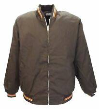 Mens Brown Classic Harrington Monkey Jacket