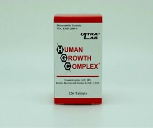 Ultra Lab Human Growth Complex HGC 126 Tablets Homeopathic Formula