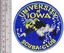 SCUBA Diving Club USA University of Iowa SCUBA Club Iowa City, Iowa 4 in Diam