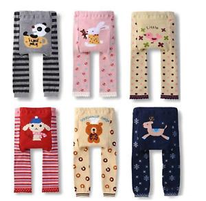 Spring Summer Children's Leggings Baby Cartoon Pants Trousers Toddler