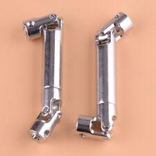 2*Edelstahl Antriebswelle Getriebewelle für 1/10 Axial SCX10 RC Crawler 90-115mm