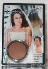 Mehron Tattoo Cream Cover TC3 Flaw Concealer, Birthmarks, Tattoos, Discoloration