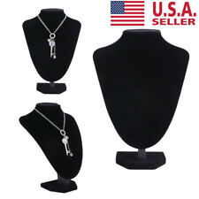 Jewelry Mannequin Necklace Pendant Neck Model Prop Display Home Stand Holder BJ