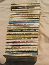 23 Vintage Authentic pulp fiction John D. MacDonald PB Fawcett books