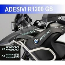 KIT ADESIVI BMW R 1200 GS STICKER BICLORE R1200GS ADESIVO BIANCO ARGENTO CARENA