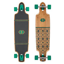 Globe Longboard Punta de Lanza 40 Bambú Verde Ronda Drop-Through Board
