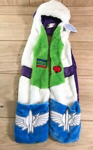 NEW Kids Toy Story Buzz Light Year Hat Pocketed Scarf Hooded Scarf Age 4-8 Years