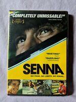 Senna (DVD, 2012) New Sealed