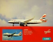 Herpa Wings 1:500 Airbus A320neo British Airways G-TTNA  532808 Modellairport500