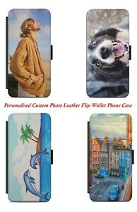 Personalised Custom Photo Printed Personalized Flip Wallet Phone Case