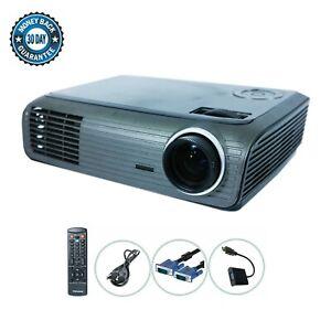 Optoma TX727 DLP Projector XGA Portable HD 1080i HDMI-adapter bundle