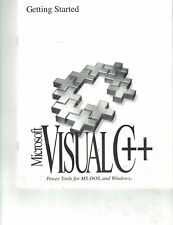 Microsoft Visual C++, Getting Started - Manual for Professional Edition 1.5