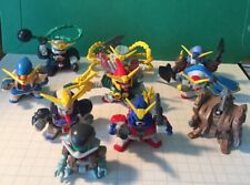 Gundam Mini Figures Robot Lot of 10 Free Shipping