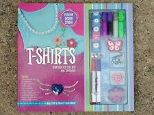 Fashion Design Studio T-Shirt Kit, New