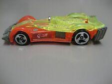 Hot Wheels / Mattel- Malaysia 1995, Road Rocket - Orange / Yellow