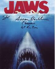 Susan Backlinie Autographed Signed Jaws Chrissie 1st Victim Photograph - To John