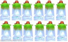 12-Pack Refillable Baby Food Pouch great for snacks & Drinks Usa B2G 20%Off