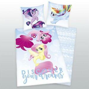 Herding Kinderbettwäsche Linon My Little Pony 135 x 200 cm    Bettwäsche