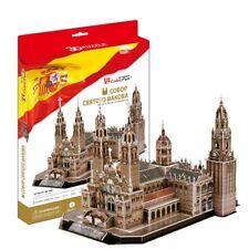 3D Puzzle CubicFun - Santiago de Compostela Cathedral (Spain) - 101 pieces