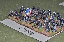15mm ACW / union - american civil war infantry 42 figures - inf (17893)