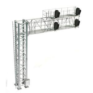 Atlas 70000098 HO 4 Left Head 2 Track Cantilever Bridge Modern Signal