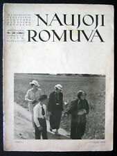 1938 Lithuanian Magazine/ Naujoji Romuva No. 20 (382)