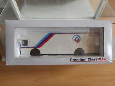 Premium Classixxs Mercedes Renntransporter BMW in White on 1:43 in Box